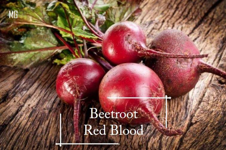 Red Blood Beetroot seeds - 30 seed