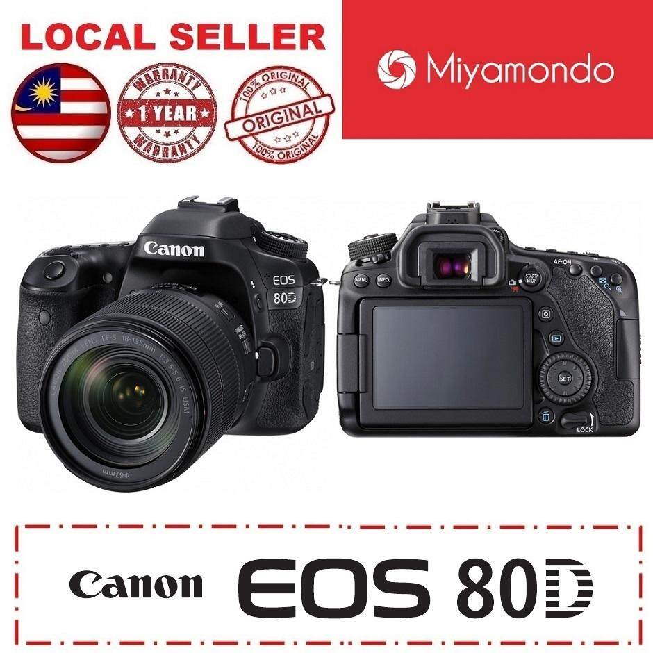 Canon Cameras Dslrs Slrs Price In Malaysia Best Eos 100d Kit 18 55 Is Stm 100 D 80d With 135mm Dslr Lens