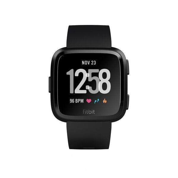 Fitbit Versa Black Aluminium Case Band FIT FB505GMBK