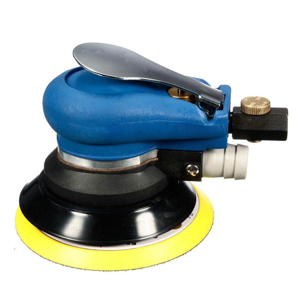 5inch Air Random al Sander Mayitr Pneumatic sanding machine Sanding Pad Vacuum Polisher Machine New