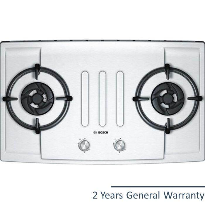 Bosch Pbd7251ms Gas Hob 2 Burner With Safety Device Ss By Tbm Online.