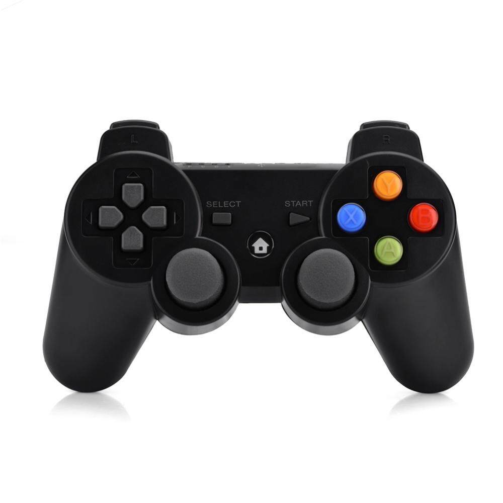 Qianmei Wireless 2.4G Bluetooth Gaming Game Controller Gamepad For Phone Smart TV Computer Black Malaysia