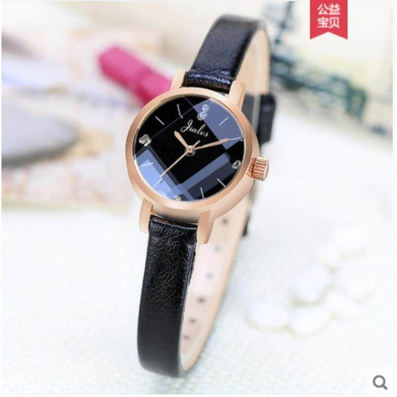 Jialus Korean Style Casual Student Leather Small Watch Malaysia