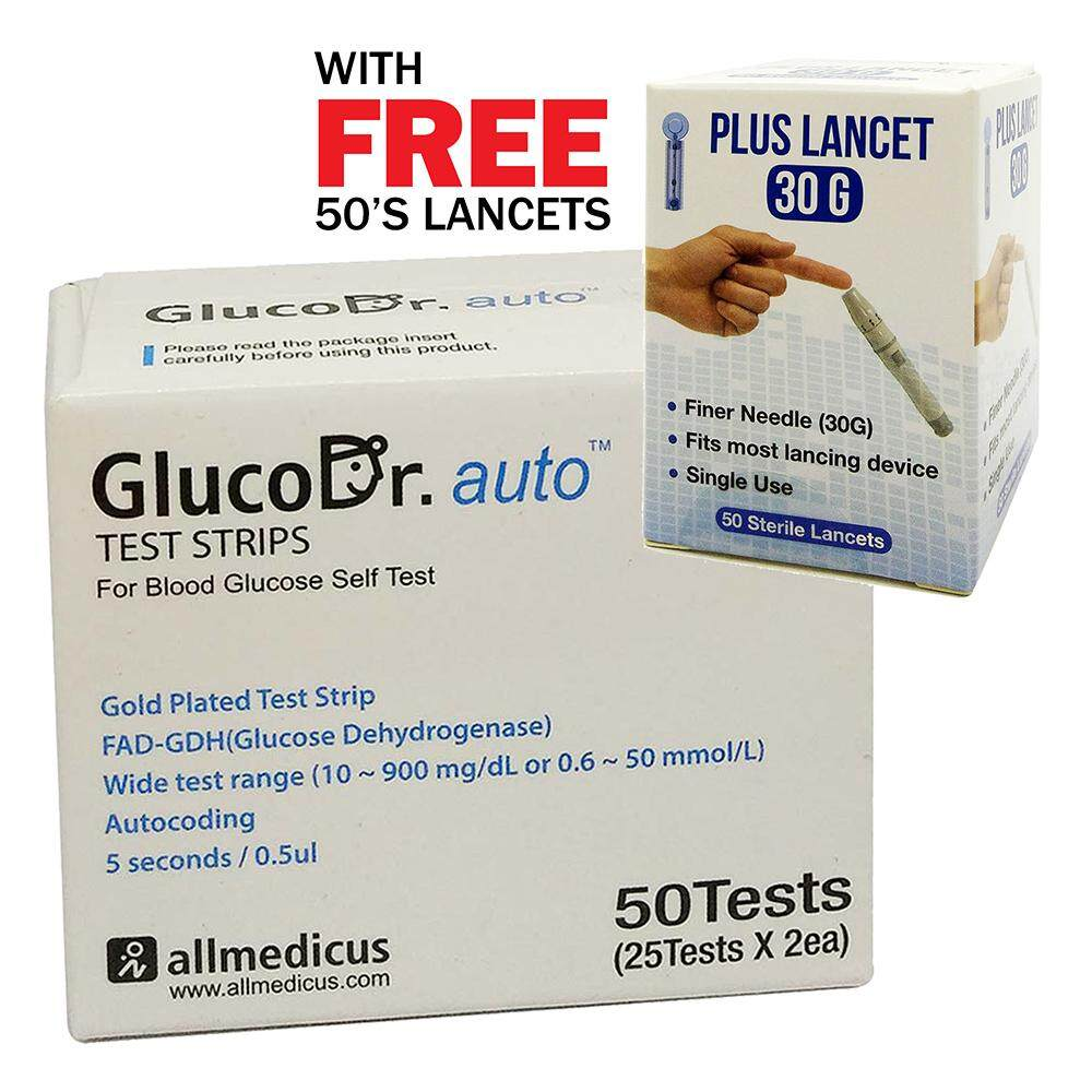 Blood Glucose Monitor Buy At Best Price In Easy Touch Test Strips Cholesterol Strip Tes Kolesterol Gluco Dr Auto 50s Free Lancet