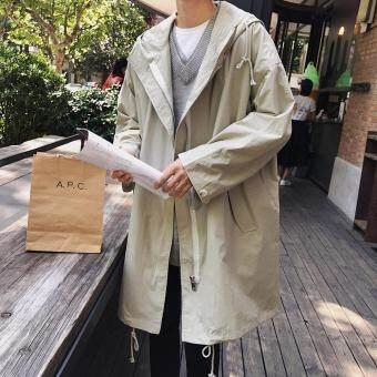 Image result for korean style trench coat men
