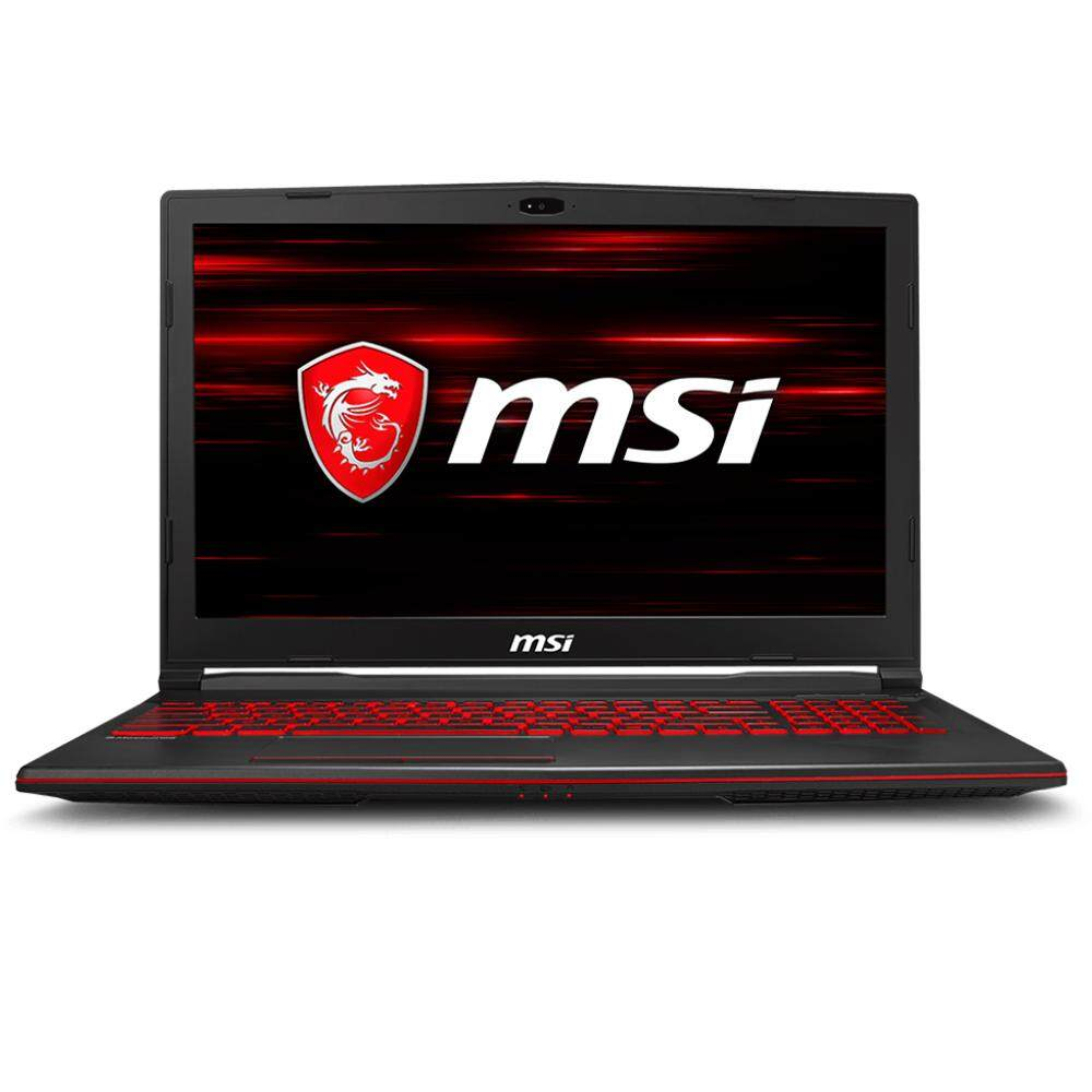 MSI GL63 8RC-252 15.6 FHD Gaming Laptop (i7-8750H, 4GB, 1TB, GTX1050 4GB, DOS) Malaysia