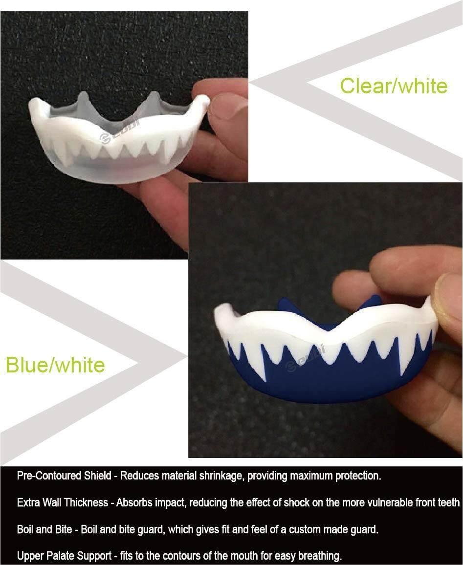 LLS Eubi Mouth Guard For Teeth Grinding Mouthguard Boxing Sports  Mmafootball Basketball Karate Muay Mouthpiece Oral Teeth Protect - intl