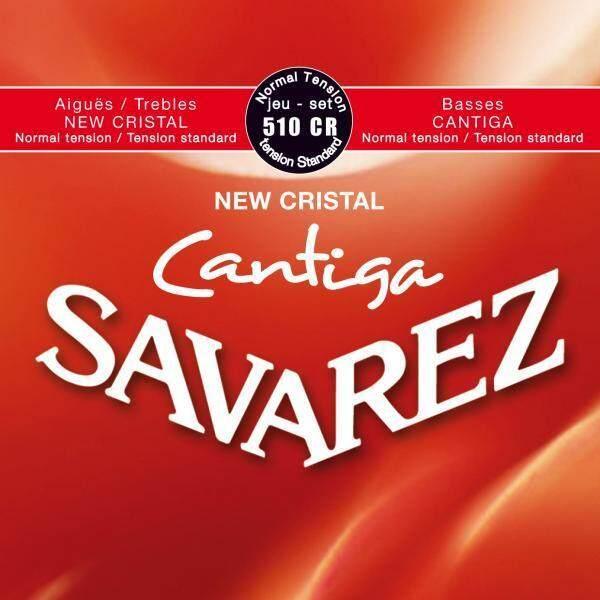 Savarez 510CR New Cristal Cantiga Normal Tension, Red Classical Guitar String Malaysia