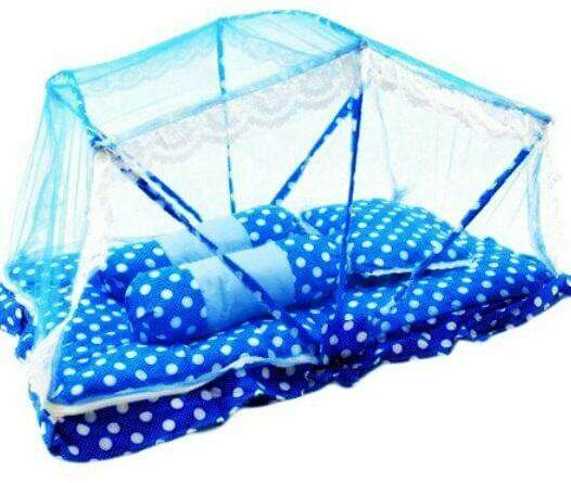 Tilam Kelambu Baby Foldable Mattress With Mosquito Net By Ichambell Shop.