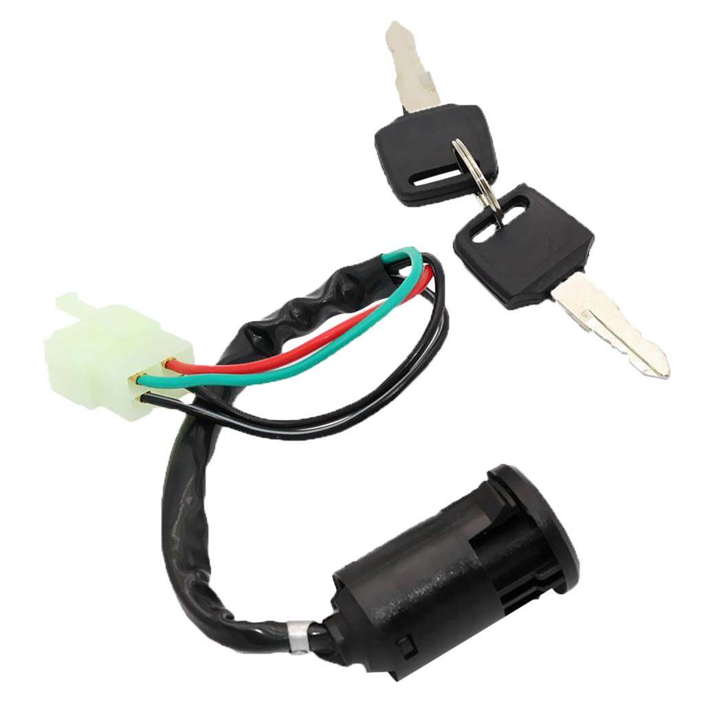 Buy Sell Cheapest 4 Wire Ignition Best Quality Product Deals Four Switch Miracle Shining Key Barrel 50cc 110cc 125cc 250cc Pit Dirt Bike Atv