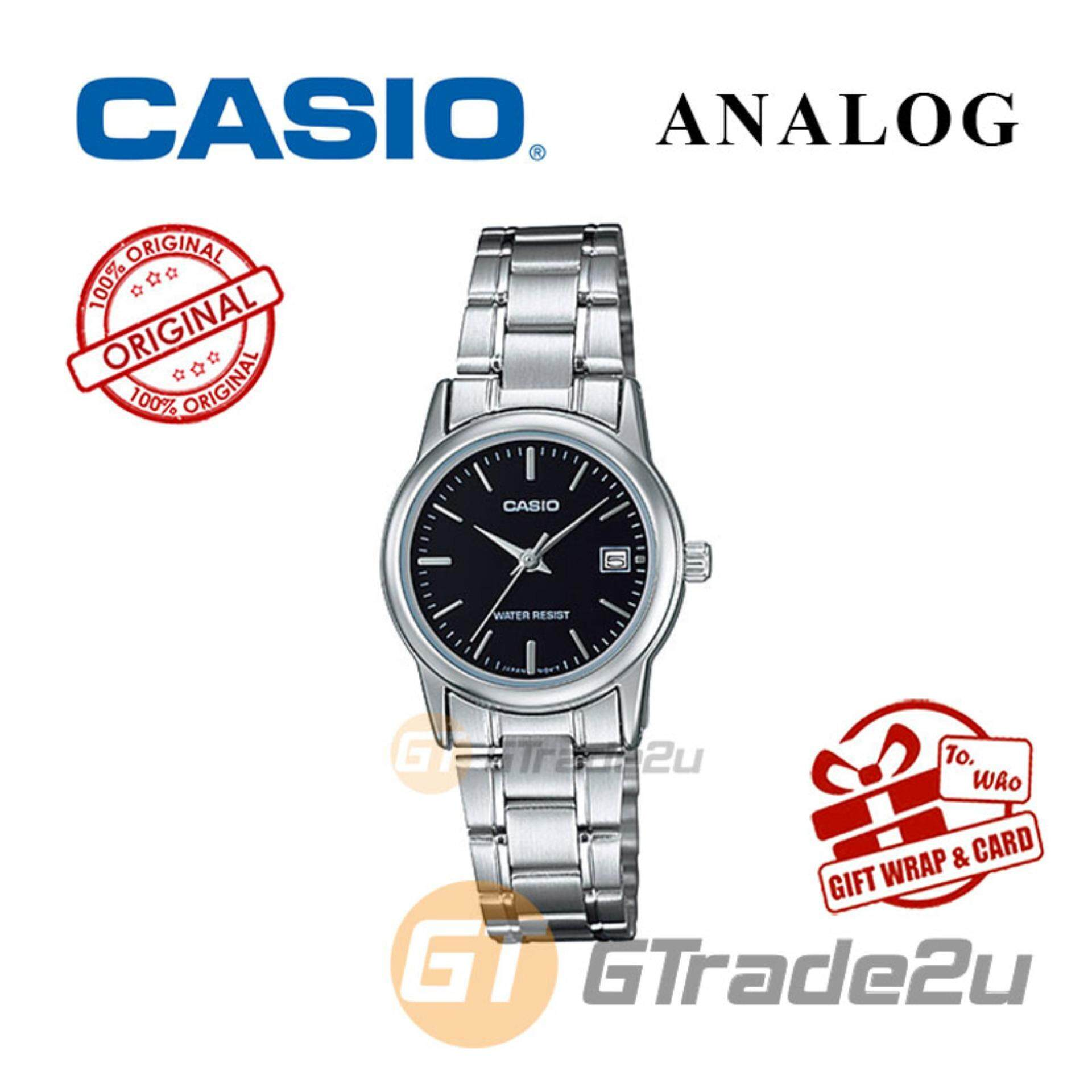 Casio Products For The Best Price In Malaysia G Shock Series Ga 100 Jam Tangan Pria Strap Resin Standard Ltp V002d 1av Analog Ladies Watch Date Display Wr