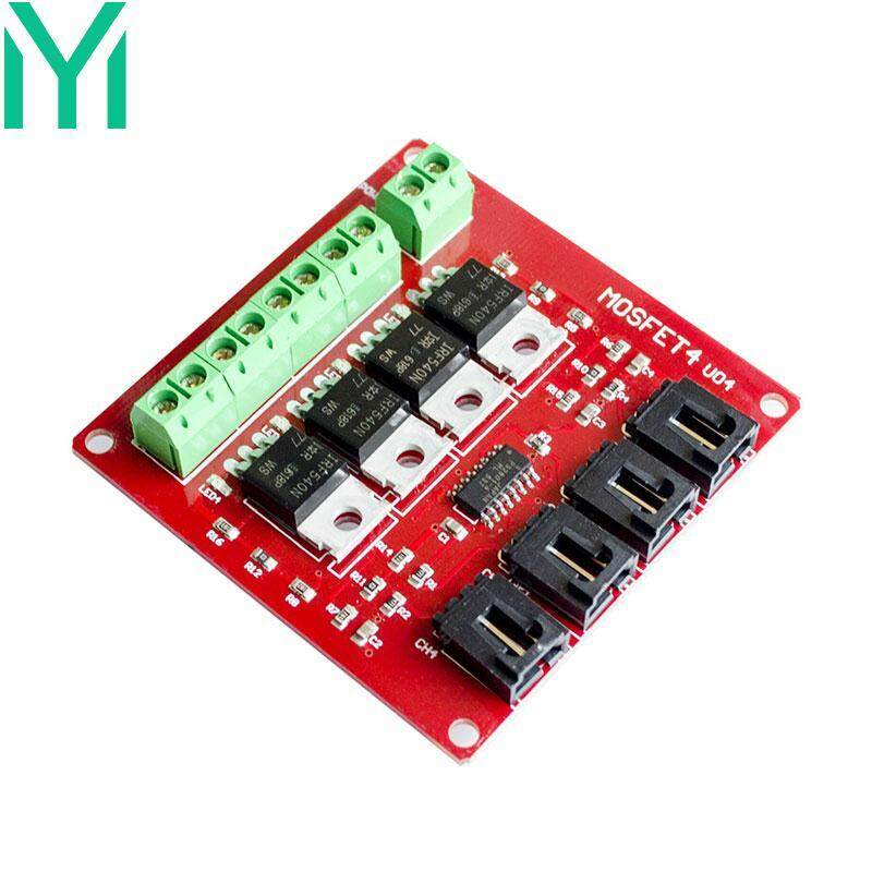 Electronic Block 4 Way Switch W/MOSFET Power Module Board Tools Supplies