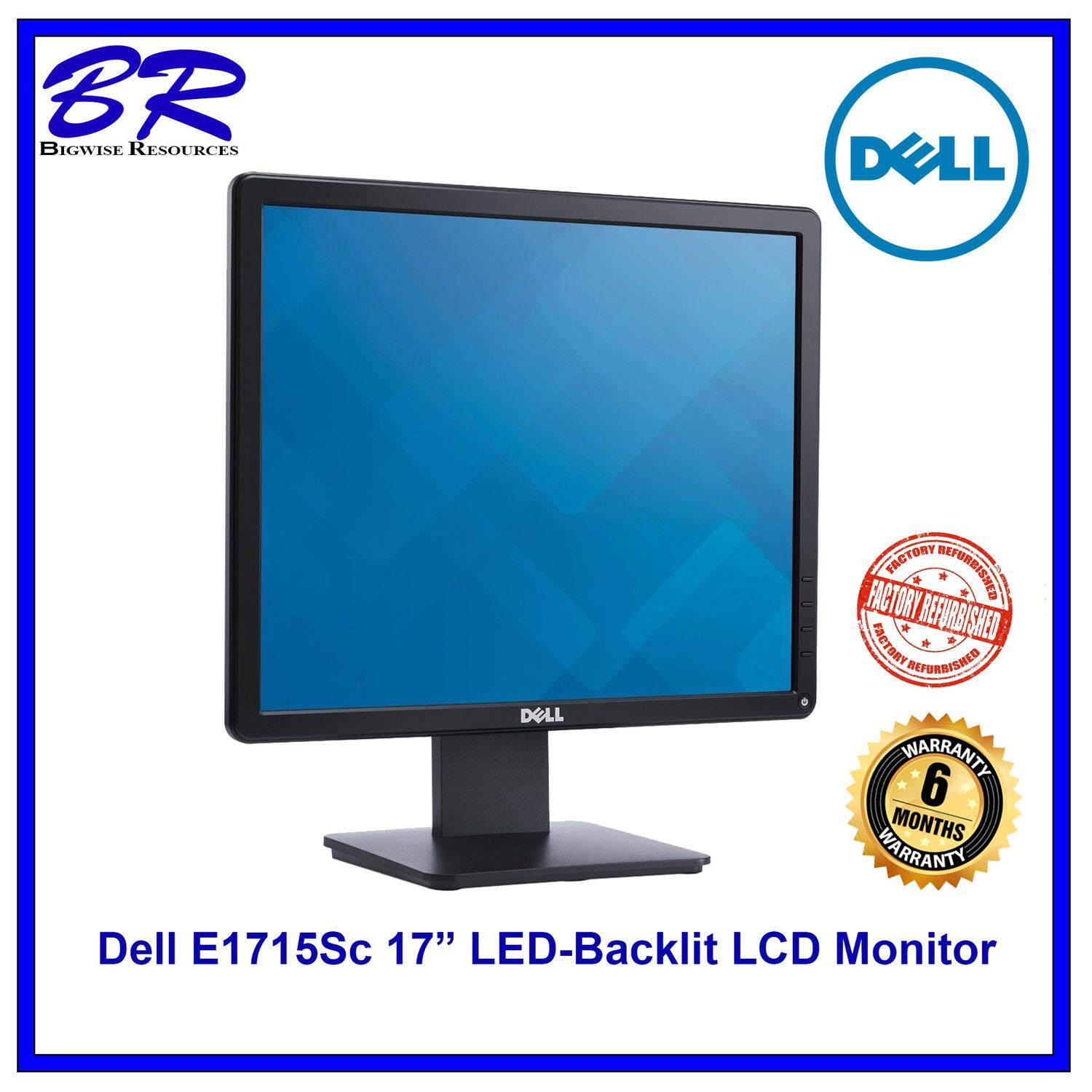 Dell Computer Accessories Monitors Price In Malaysia Best Monitor Led P1917s Refurbished E1715sc 17 Backlit Lcd