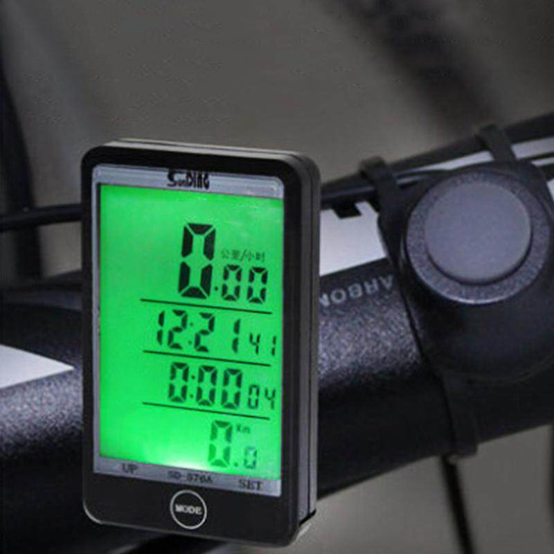 Bike Speedometer Multifunction Cycling Odometer Wireless Or Wired Bicycle Computer By Outdoor Lizard.