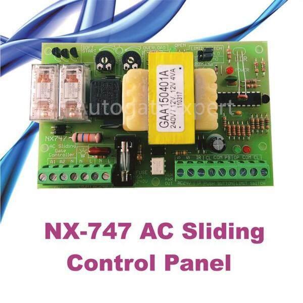 Autogate- NX 747 AC Sliding Panel
