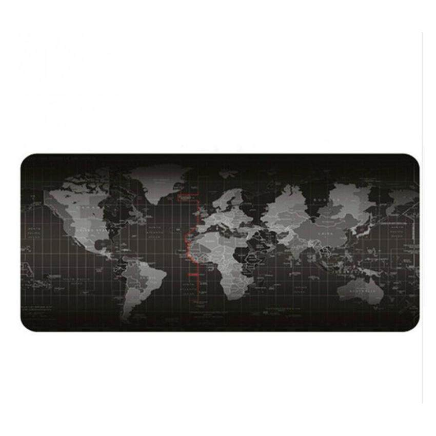CENBLUE Big Size (70cm*30cm*0.2cm) Pro Gaming World Map Mouse Pad Mousepad for Dota LOL CS GO Malaysia