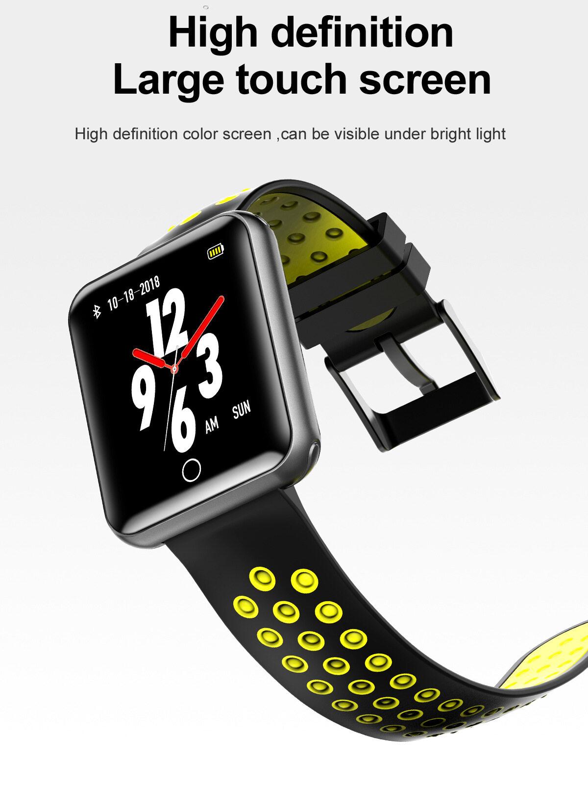 Top-Sky Q18 Waterproof Smart Watch, Long Lasting Health
