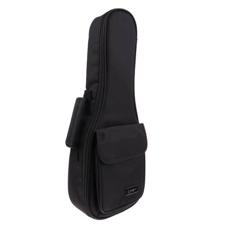 Miracle Shining Thicken Adjustable Ukulele Gig Bag Uke Case Padded Carry Bag 21inch Black Malaysia