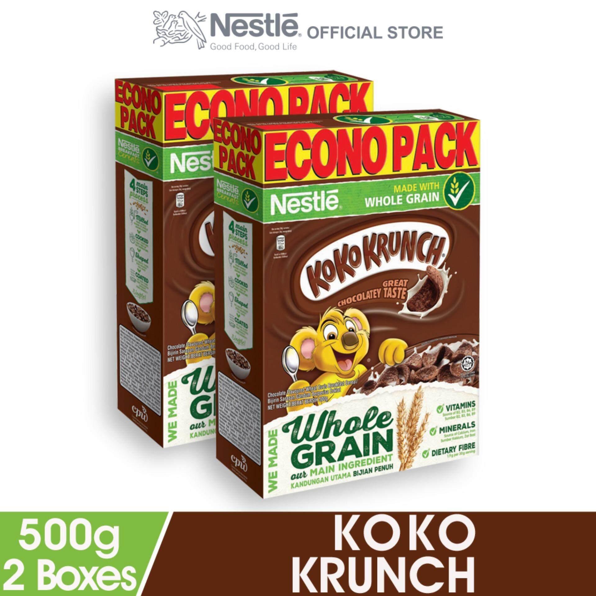 Nestle Koko Krunch Cerealeconopack 500g X2 Boxes By Nestle Flagship Store.