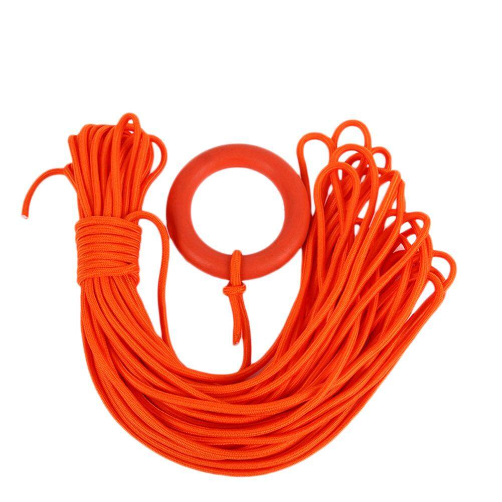 Dlong 30m Diameter 8mm Floating Lifeline With Buoyant Water Rescue Rope With Hand Ring By Danlong Store.