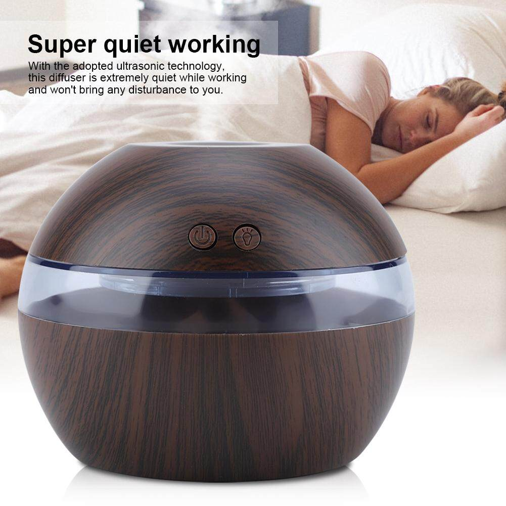 300ml Usb Super Quite Humidifier Aromatherapy Essential Oil Aroma Diffuser By Minxin.