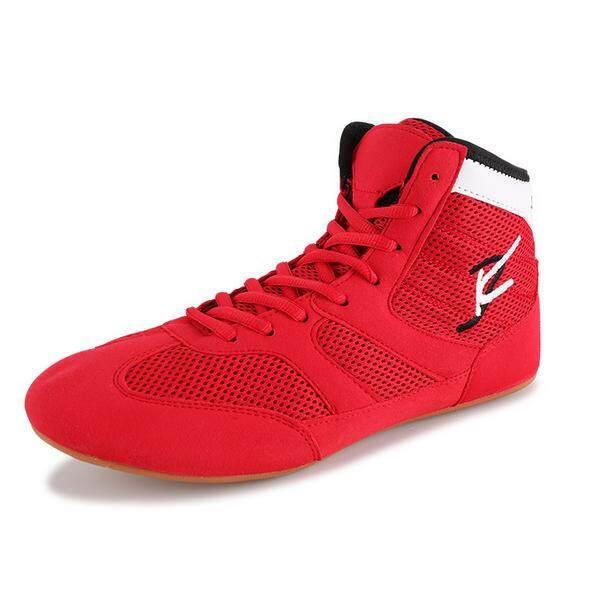 49fe4e269dbe35 LEFUS Men s Wrestling Shoes Tendon Sole Anti-skid Breathable Men and Women  Training Shoes Boxing