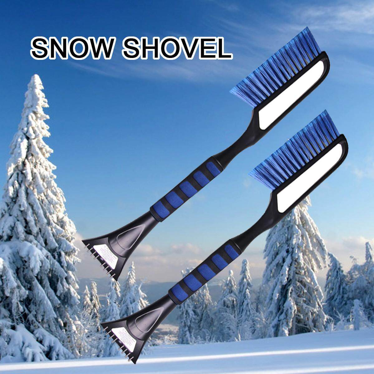 Extendable Car Snow Scraper Brush Multifunctional Defrost Deicing Window Wiper