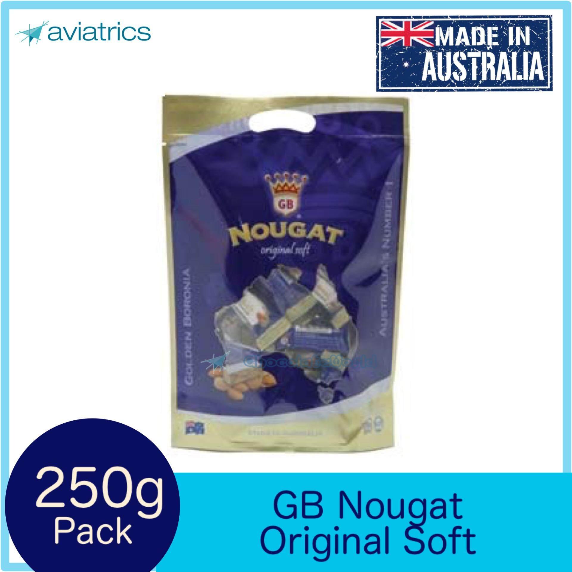 Golden Boronia Nougat Original Soft 250G (Made in Australia) 60fcede927