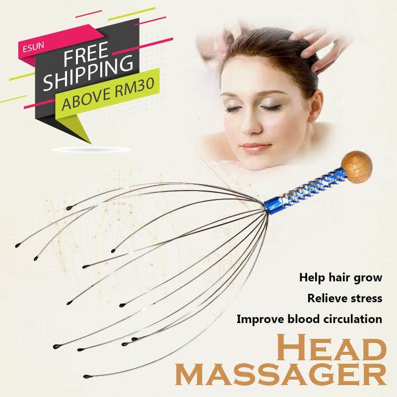Head Massager Scratching Keep Healthy Relieve Stress Convenient To Use By Esun.