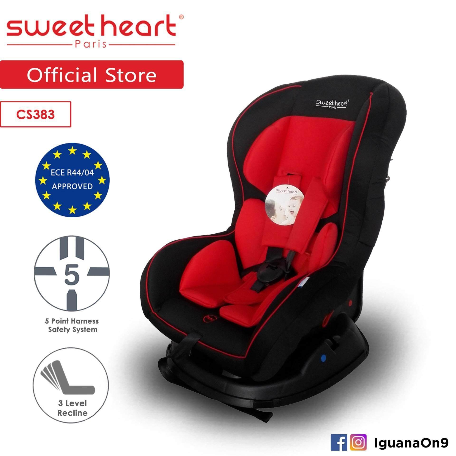 a1004d7c9cf Sweet Heart Paris CS383 Car Seat (Red) with High Impact Material