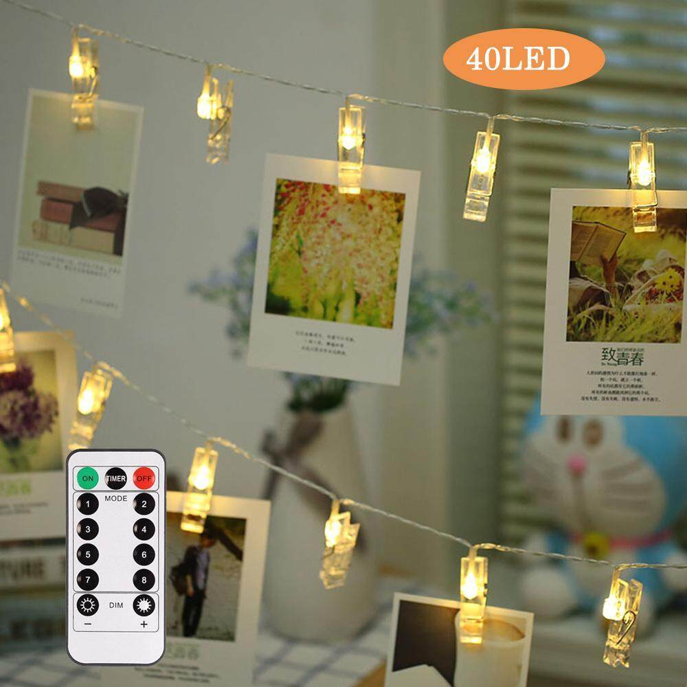Home Led Strip Lighting Buy At Best Price Arduino Camping Light With Dimmer Orzbuy Photo Clips String Lights 40 8 Modes Remote Control Wall