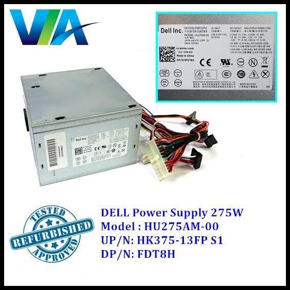 Dell Optiplex 3010 7010 9010 MT PSU 275Watt HU275AM-00 FDT8H