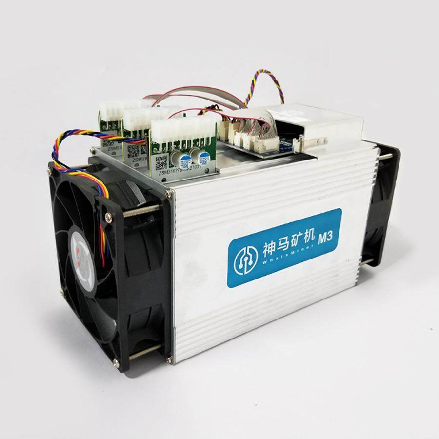 WhatsMiner M3 11 X ~ 12 5 Th/s with 220V PSU (Bitcoin ASIC Mining)