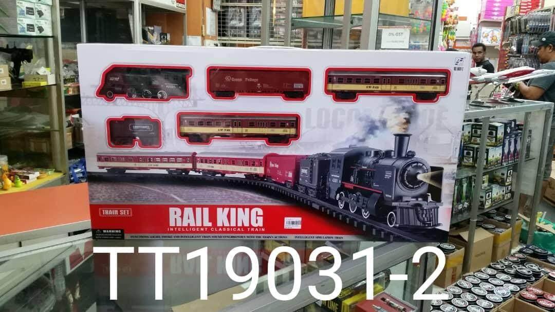19031-2 Rail King Train Tracks By Mr Bin.