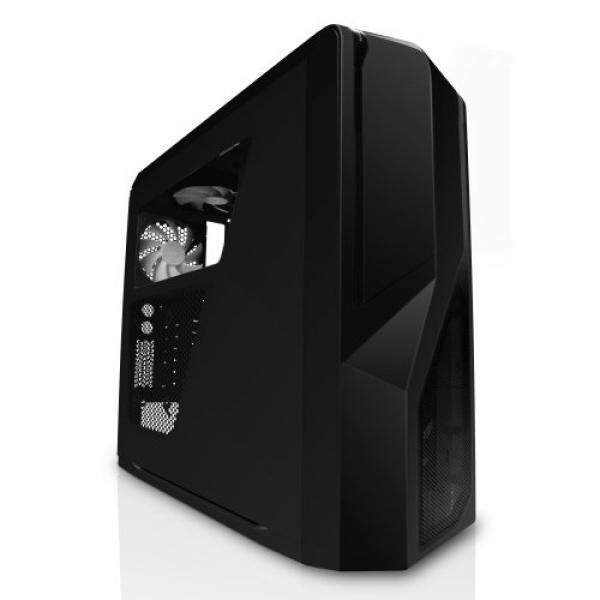 [From.USA]NZXT Phantom 410 Mid Tower Computer Case , Black (CA-PH410-B1) B006I2H084 Malaysia