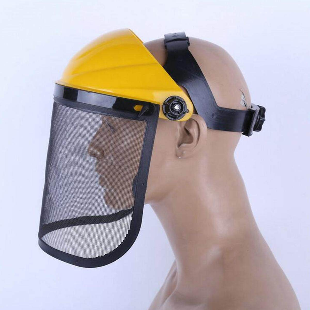 Wire Mesh Head Wear Safety Mask Dust Protective Screen Mowing Explosion-proof