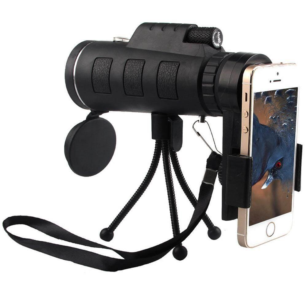 OrzBuy Monocular 40X60 Zoom Optical Lens Telescope + Tripod + Clip+ Wipe Mirror + Bag +