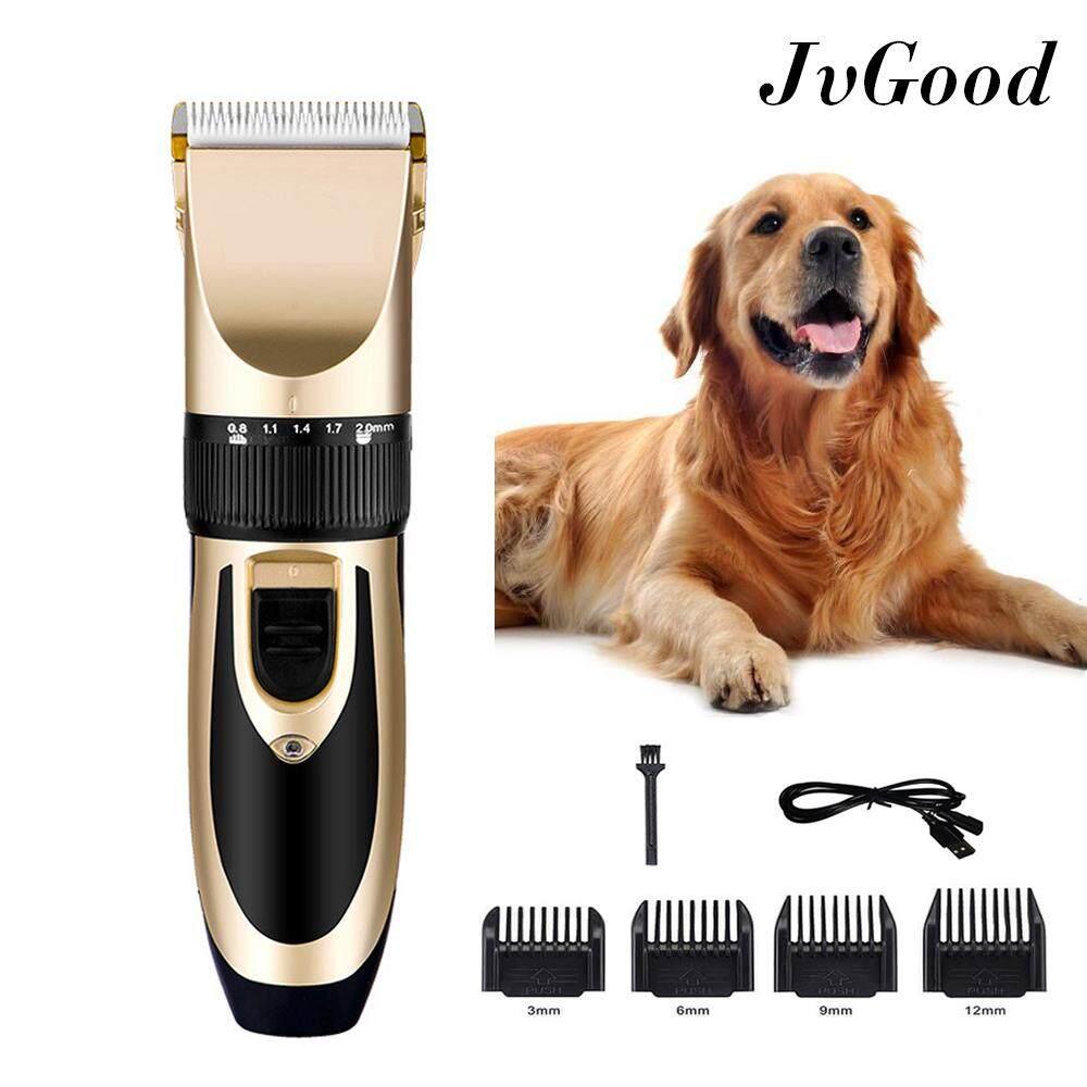 JvGood Animal Pet Cat Dog Hair Trimmer Clipper Professional Grooming Kit