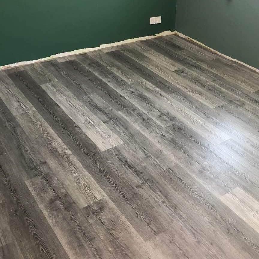Painted Vinyl Linoleum Floor Makeover Ideas: Home Painting & Decorating