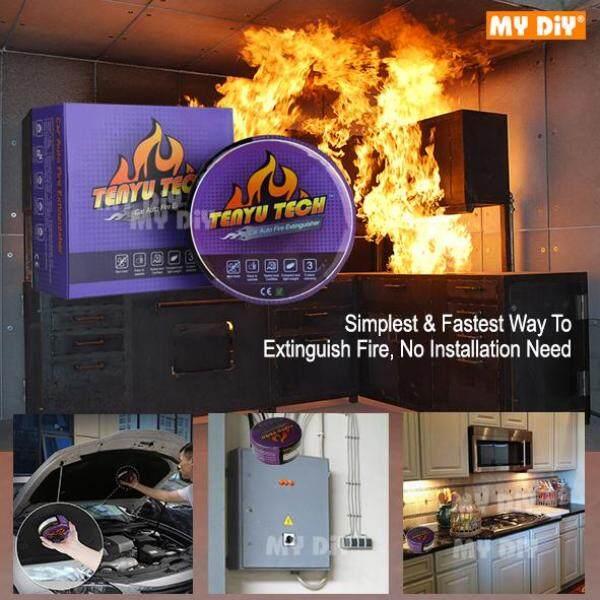 MYDIYSDNBHD - TENYU TECH Automatic Fire Extinguisher Auto Fire Off Fire Extinguisher for Car Home Office FACTORY use