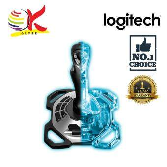 LOGITECH EXTREME 3D PRO JOYSTICK CONTROLLER GAMING 12 PROGRAMMABLE BUTTON 8 WAY HAT SWITCH RAPID FIRE TRIGGER