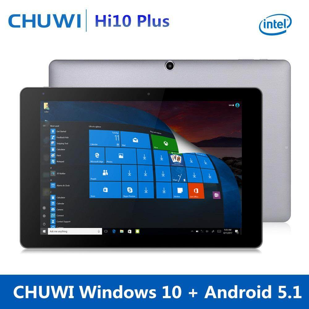 Latest tablet products with best online price in malaysia 108 inch chuwi hi10 plus 4gb ram 64gb rom tablet pc windows 10 android 51 dual thecheapjerseys Images