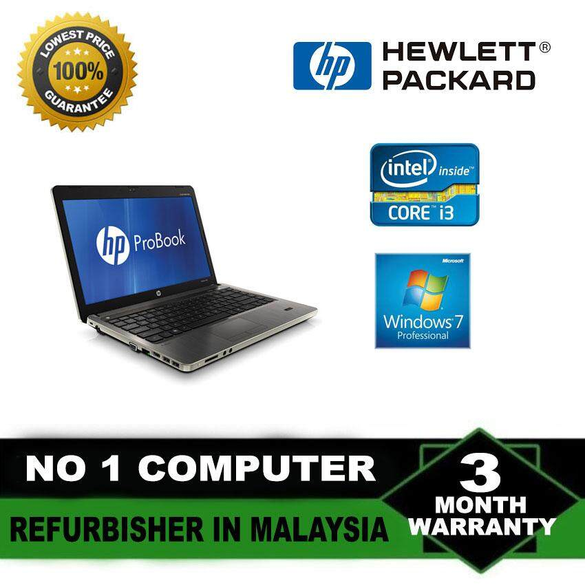 (Refurbished Notebook) HP Probook 6460b 14 inch Laptop / Intel Core i3-2350M / 250GB Hard Disk / 4GB Ram / DVD Writer / Webcam / WIndows 7 Malaysia