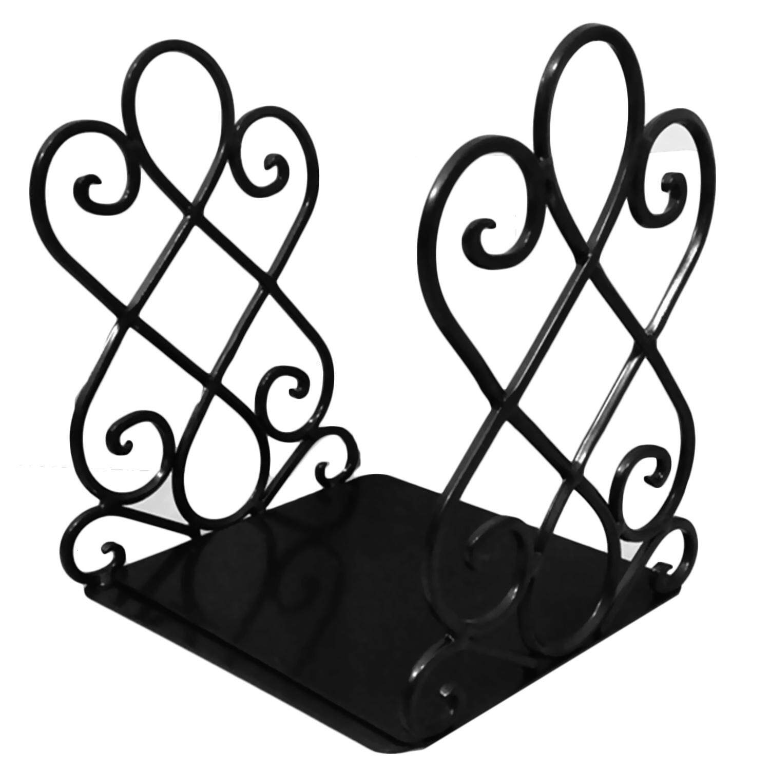 Universal Vintage Style Bookends Heavy Duty Metal Book Ends Holder Supports For Home Office Storage Organizer Accessories By Jelly Store.