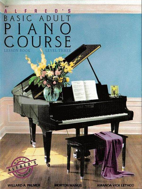Alfreds Basic Adult Piano Course Lesson Book Level Three Malaysia