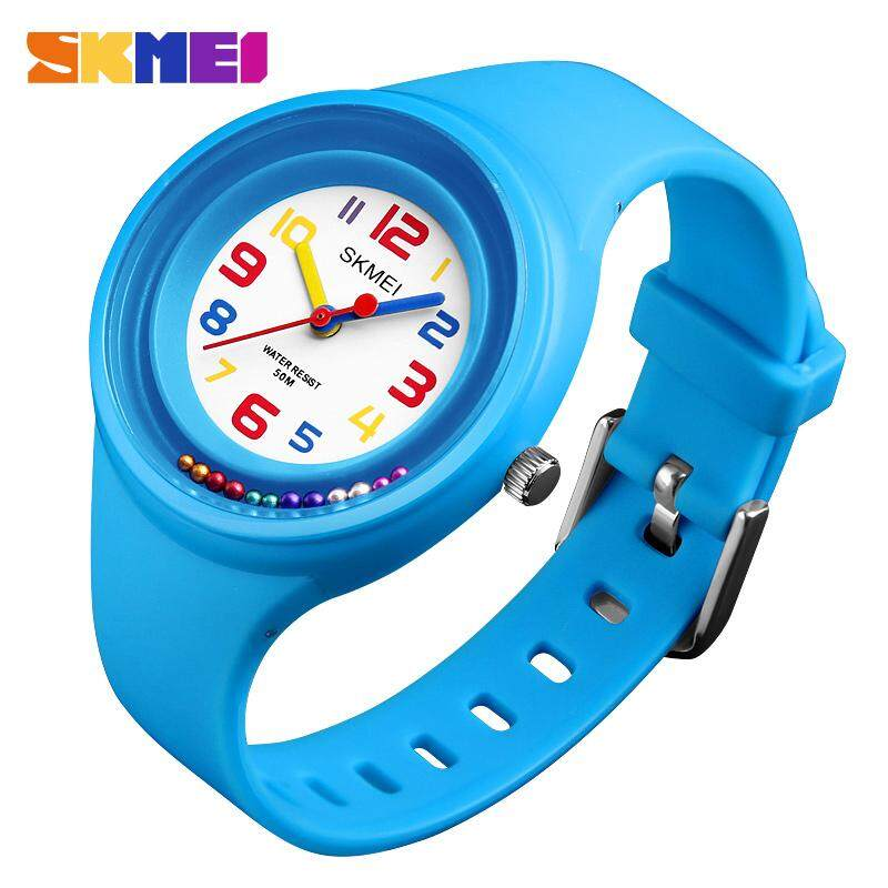 SKMEI New Children Kids Watches Fashion Casual Quartz Watch 50M Waterproof Clock Boy Girl Wristwatches Jam tangan kanak 1386 Malaysia