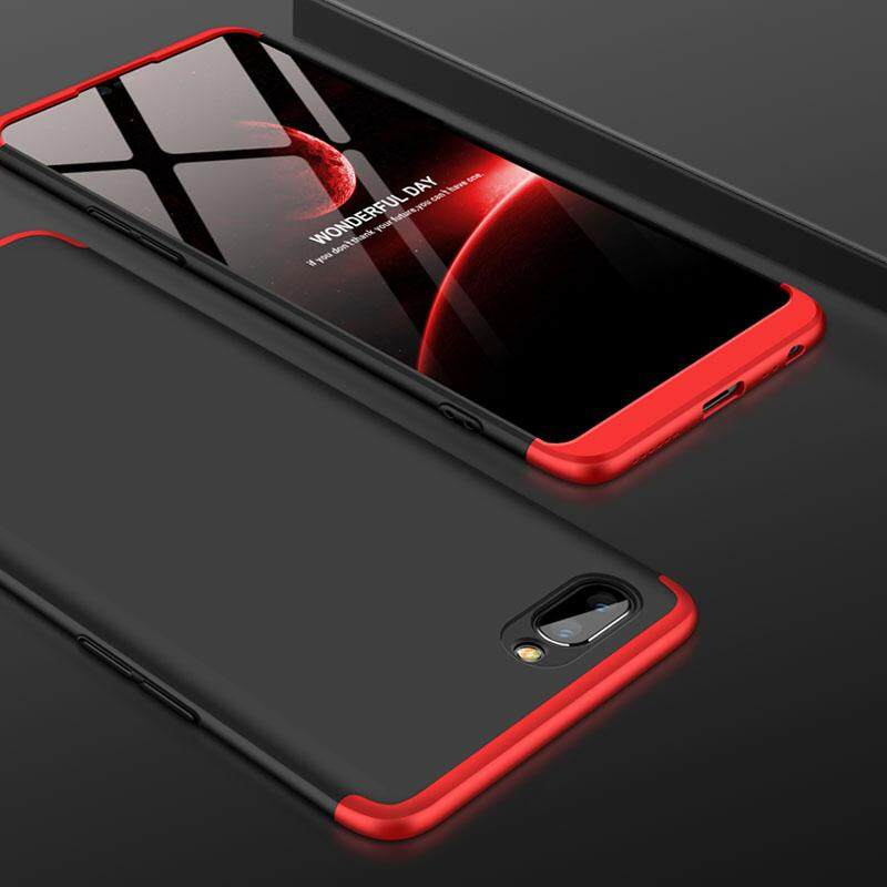 For OPPO Realme C1 Full Body Shockproof Casing Ultra-Thin 3 in 1 Detachable Anti