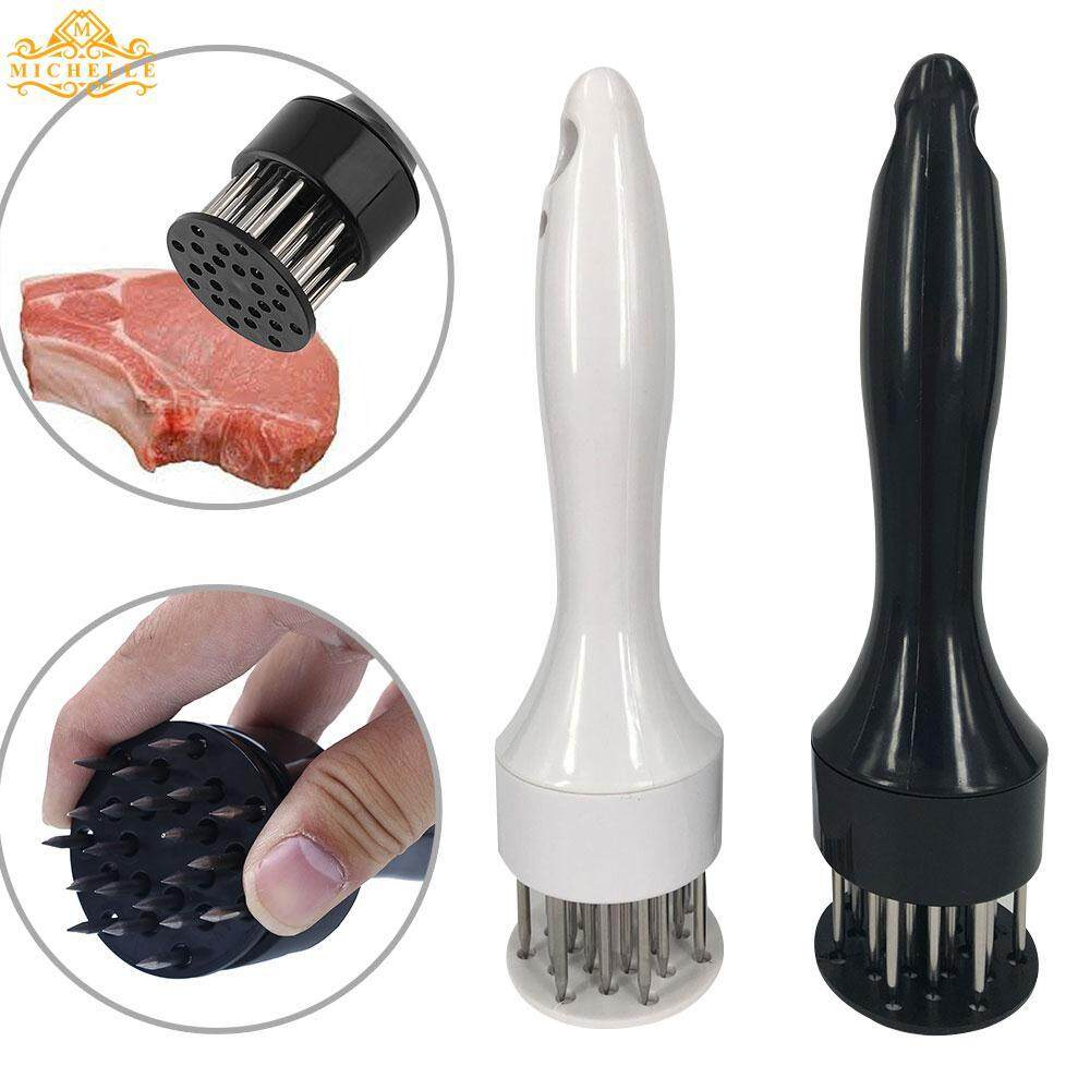 Professional Stainless Steel Spikes Sharp Blades Meat Beaf Steak Tenderizer By Michelle Trading.