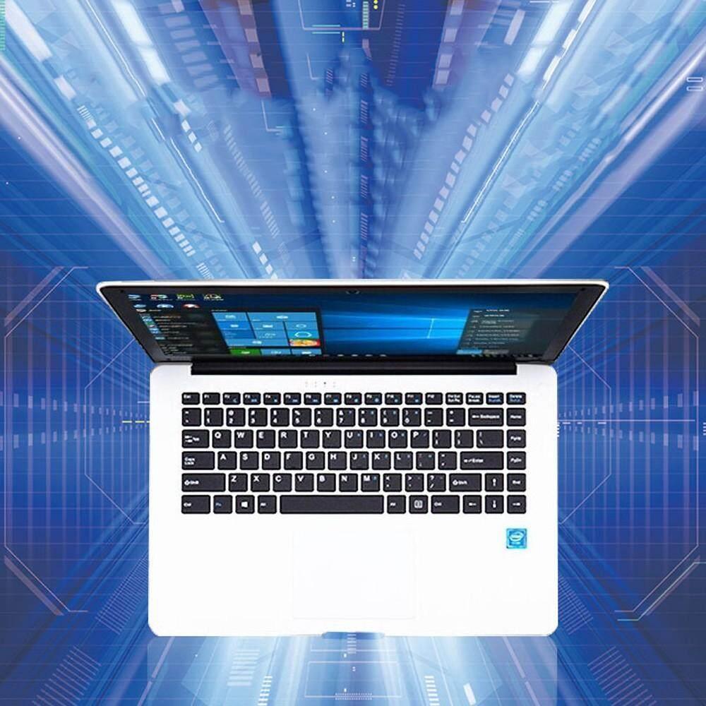 14.1 Ultraslim Quad Core 6G 64GB Laptops Windows 10 HD 1920x1080 9000mAh Portable Laptop White Malaysia