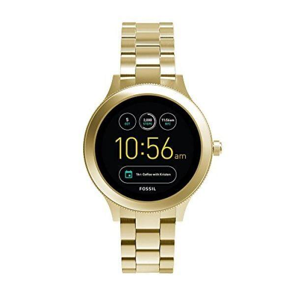 Fossil Q Womens Gen 3 Venture Stainless Steel Smartwatch, Color: Gold-Tone (Model: FTW6006)